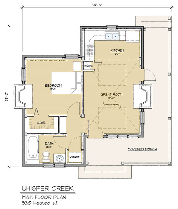 Whisper Creek Floorplan