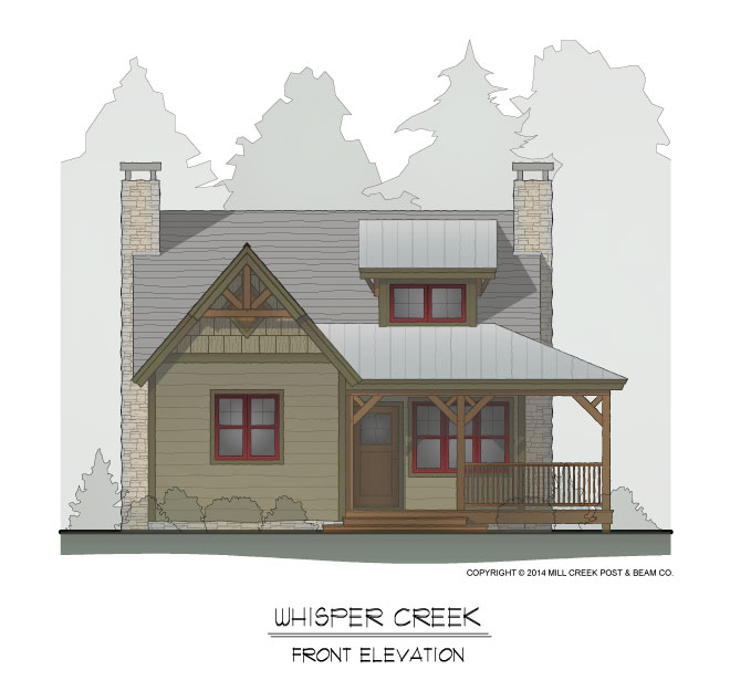 Whisper Creek Front Elevation