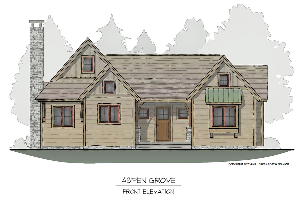 Aspen Grove Front Elevation