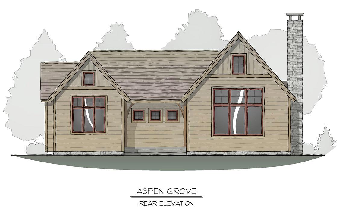 Aspen Grove Rear Elevation