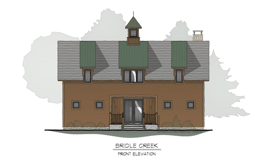 Bridle Creek Front Elevation