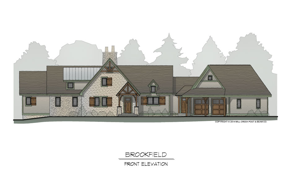 Brookfield Front Elevation