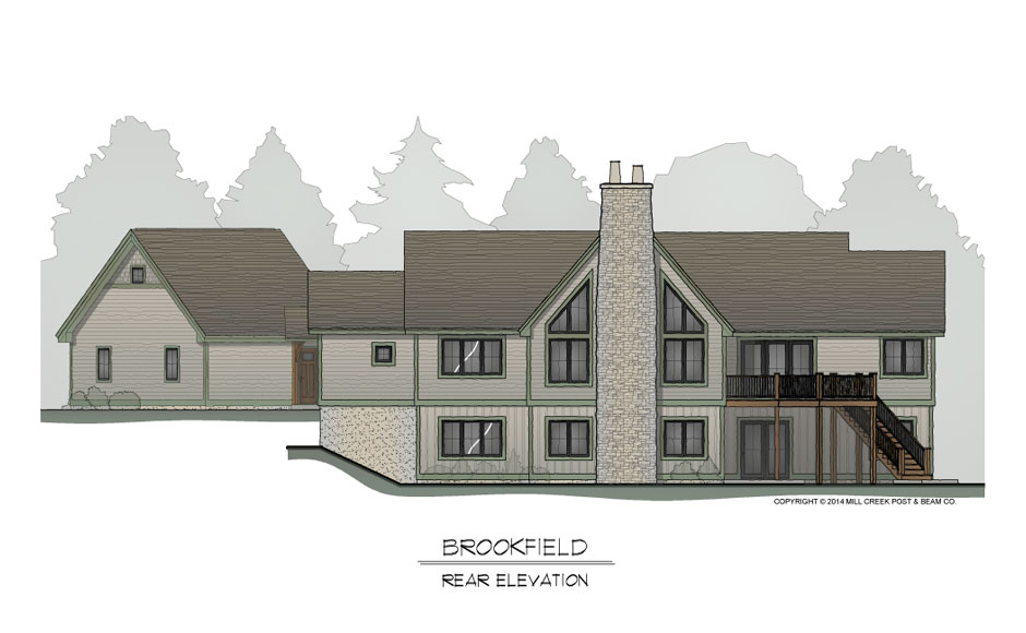 Brookfield Rear Elevation