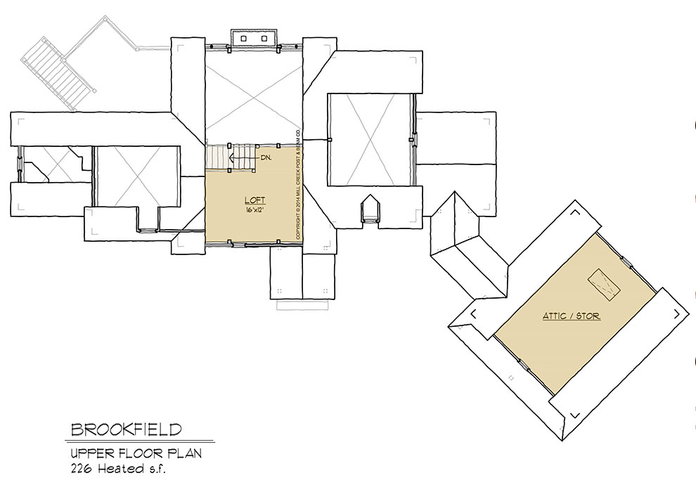 Brookfield Upper Floor Plan