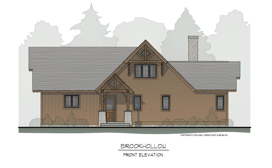 Brookhollow Front Elevation