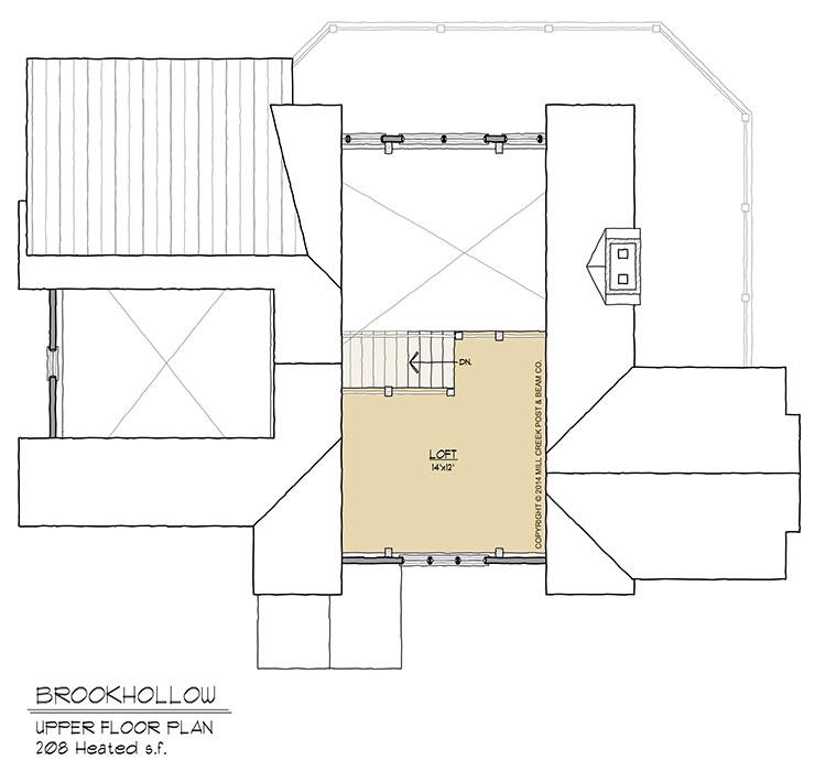Brookhollow Upper Floor Plan