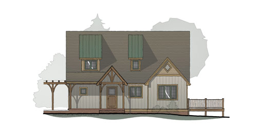 Laurel Branch Timber Frame Home