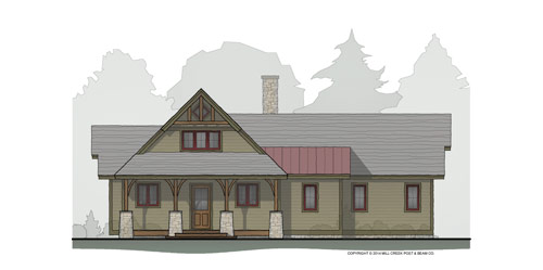 Maple Creek Timber Frame Home