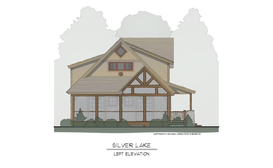 Silver Lake Timber Frame Home Design