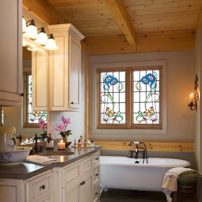 Timber Frame Bathroom