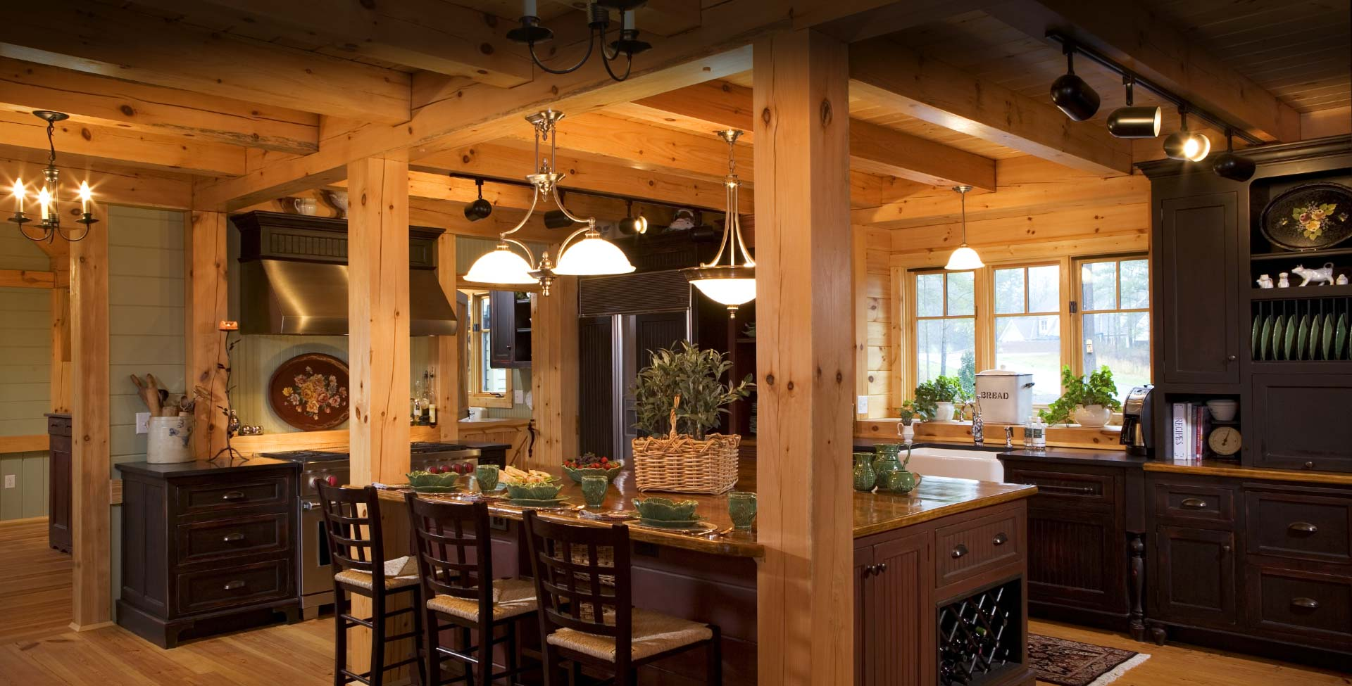 Timber Frame Homes By Mill Creek Post Beam Company