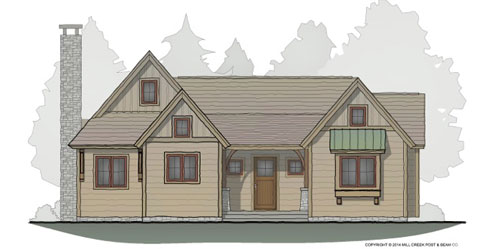 Aspen Grove Timber Frame Floor Plan