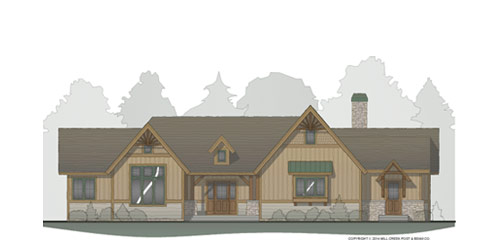 Ridgeway Timber Frame Floorplan