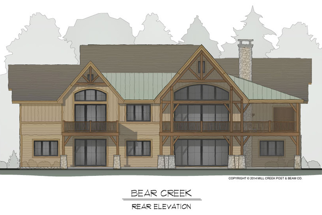 Bear Creek Rear Elevation