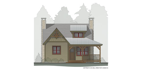 Whisper Creek Timber Floor Plan