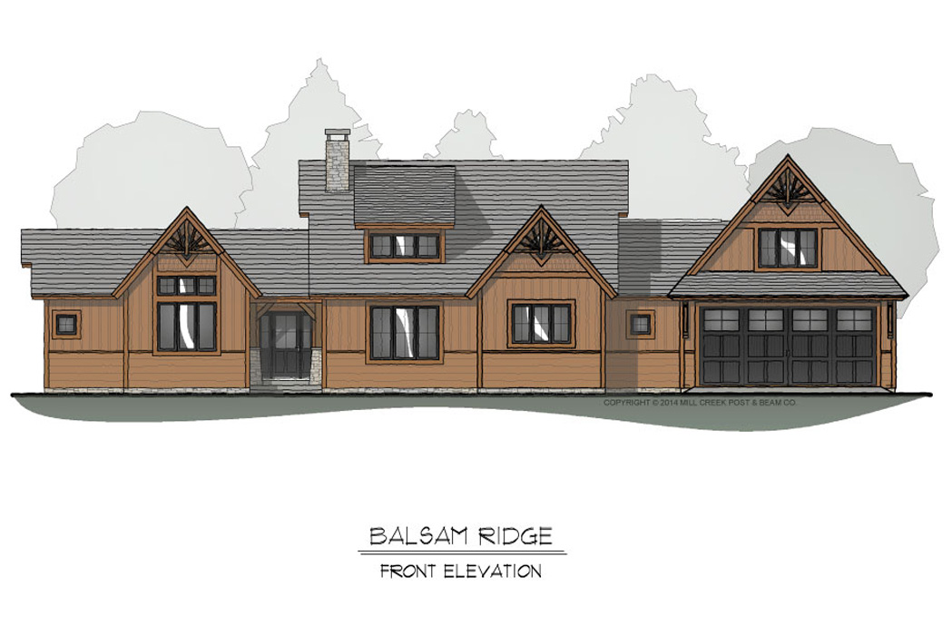 Balsam Ridge Front Elevation