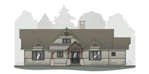 Boulder Creek Timber Frame Home