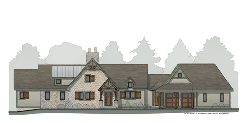 Brookfield Timber Frame Floor Plan
