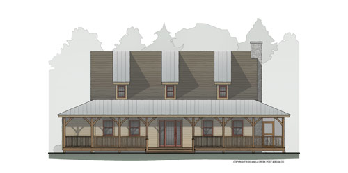 Millstead Run Timber Frame Floor Plan
