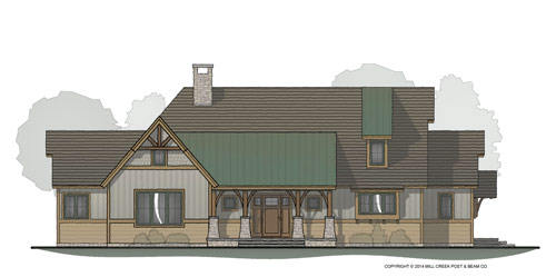 Saranac Lake Timber Frame Home