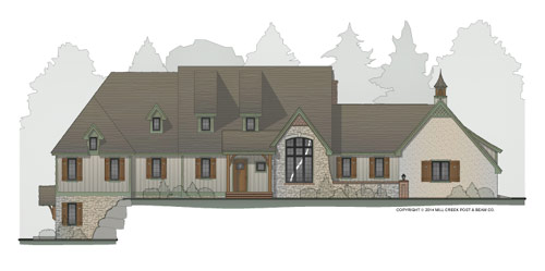 Torngate Timber Frame Floor Plan