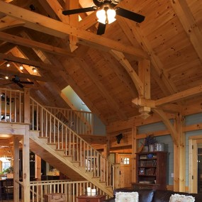 Timber Frame Great Room