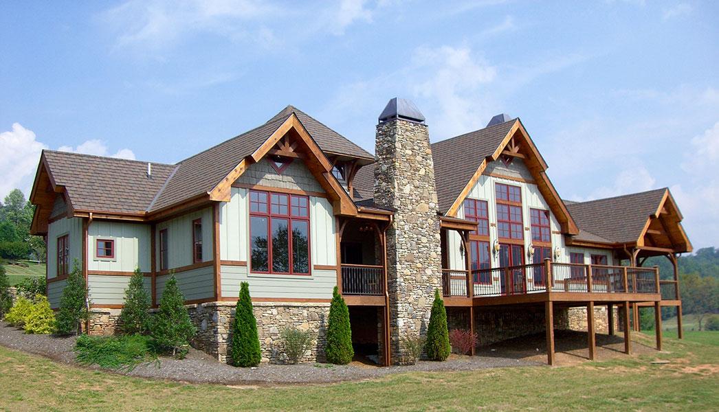 timber frame exteriors