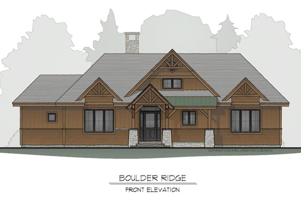 Boulder Ridge Timber Frame Floor Plan