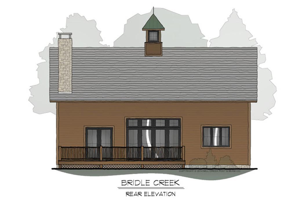Bridle Creek Timber Frame Floor Plan