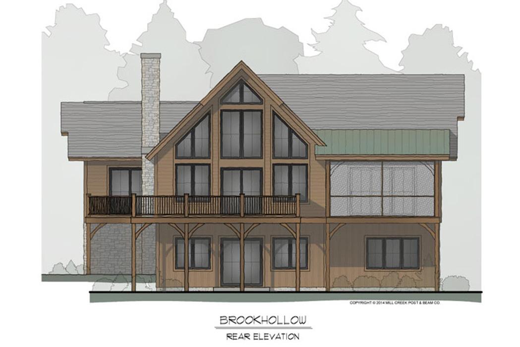 Brookhollow Timber Frame Floor Plan