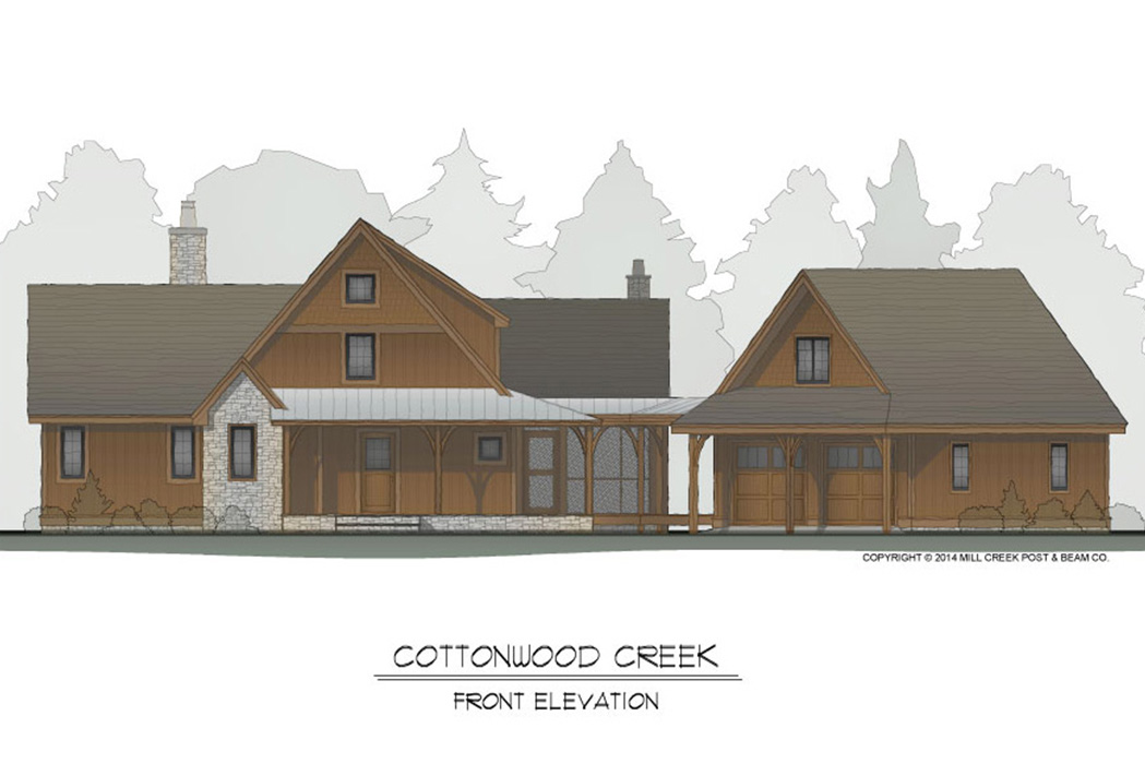 Timber Frame Homes | Mill Creek Post & Beam