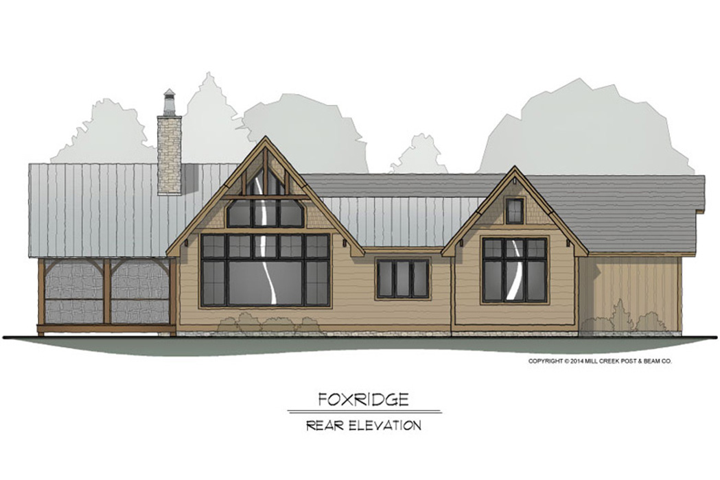 Foxridge Timber Frame Floor Plan