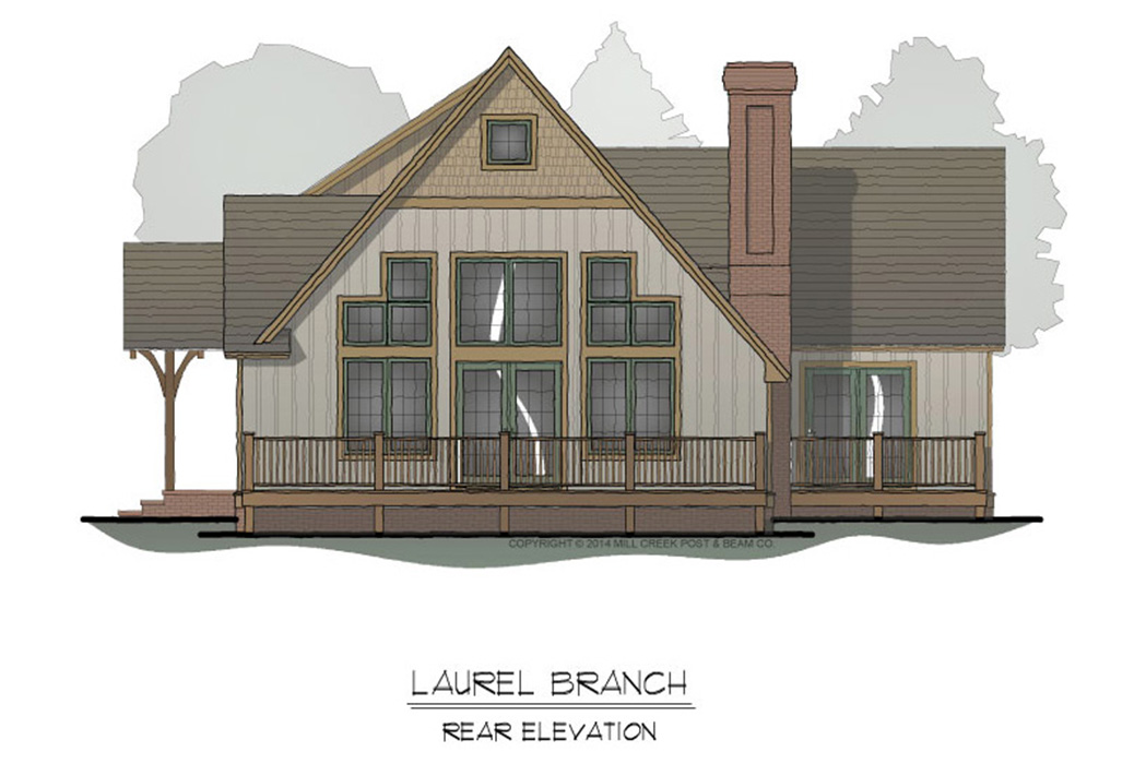 Laurel Branch Timber Frame Floor Plan