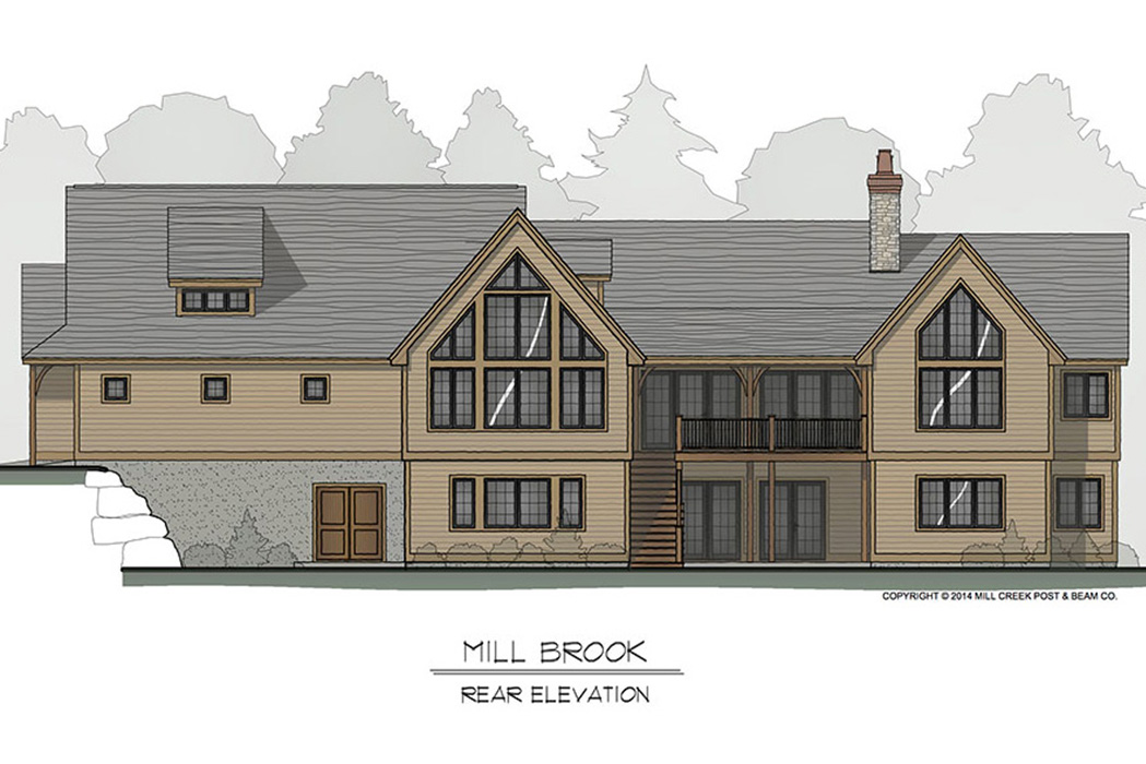 Mill Brook Timber Frame Floor Plan