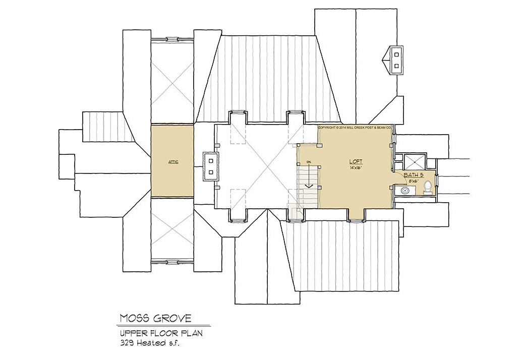 Moss Grove Timber Frame Floor Plan