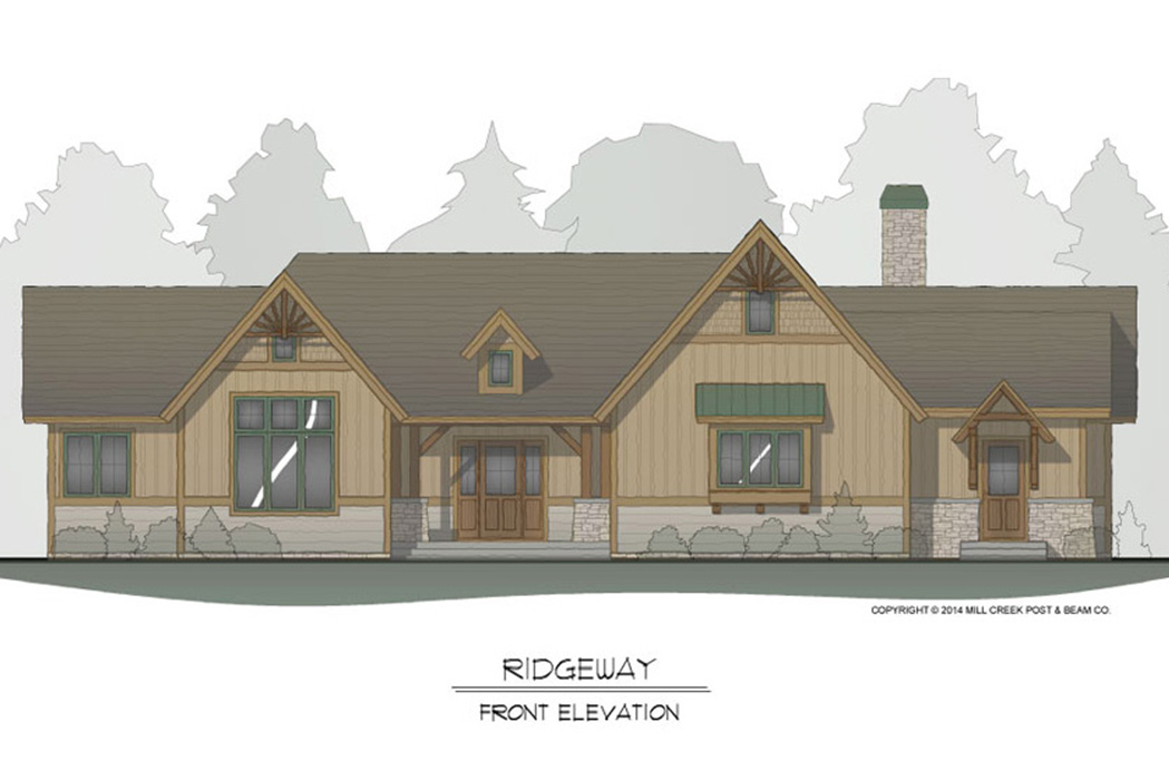 Ridgeway Timber Frame Floor Plan