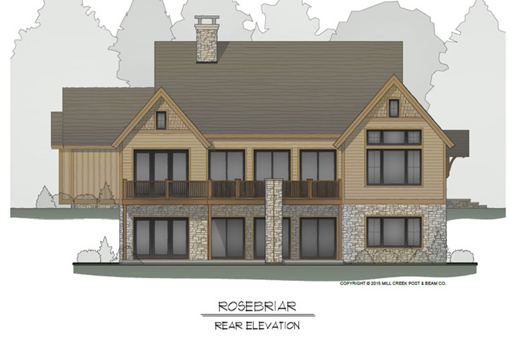 Rosebriar Timber Frame Floor Plan