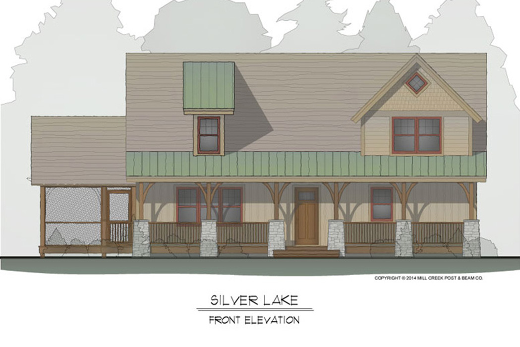 Silver Lake Timber Frame Floor Plan
