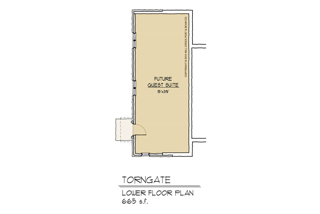 Torngate Timber Frame Floor Plan