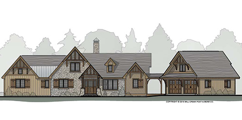 Greenbrier Timber Frame Floor Plan