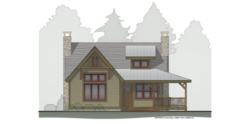 Whisper Creek II Timber Frame