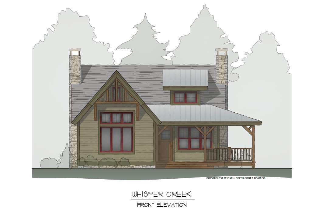Whisper Creek II Timber Frame