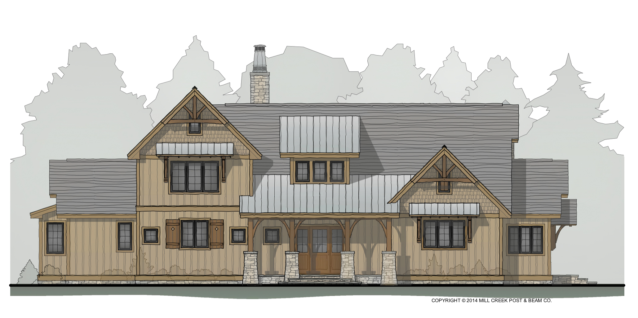 Timber Frame Homes By Mill Creek Post & Beam
